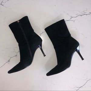 Vintage Gucci Suede Ankle Boots